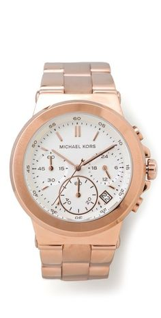 Michael Kors Dylan Watch  love the rose gold