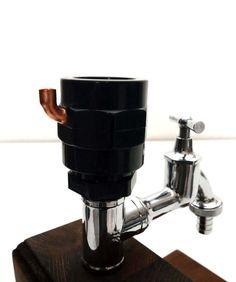 Handmade Wooden alcohol dispenser / liquor dispenser / whiskey