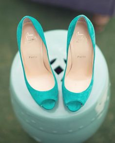 Christian Louboutin Fall 2015 Fashion high heels, fashion girls shoes and men shoes ,just here with best price Azul Tiffany, Tiffany Blue, Bridal Shoes, Wedding Shoes, Red Bottom Shoes, Red Bottoms, Christian Louboutin Shoes, Louboutin Pumps, Something Blue