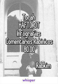 Torah  HAFTOROT Infografias  Comentarios Rabinicos 80.00                            Rabkim