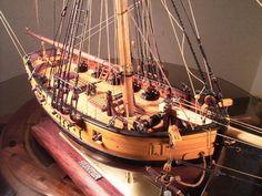 ハンター(Hunter) 帆船模型_2