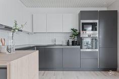 Ajaton ja virtaviivainen keittiö