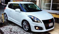 Learn About the Cars at The Motor Buzz Suzuki Swift Tuning, New Suzuki Swift, Suzuki Swift Sport, Wagon R Car, New Swift, Suzuki Cars, Kei Car, Wide Body Kits, Car Wallpapers