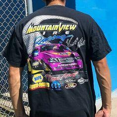 Vincent Noble Vintage NASCAR Y2K All Over Print Shirt Adult...
