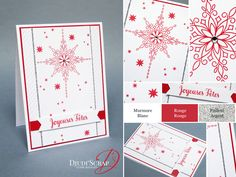 "Stampin'Up! by Djudi'Scrap - Carte de Noël ""Set Etoile Lumineuse / Star of Light Stamp Set"""