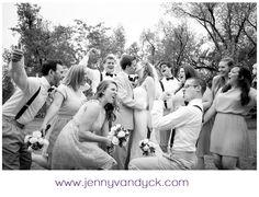 Fun Bridal Party Shot | Wedding Photography