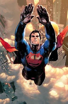 Superman by Clay Mann, colours by Tomeu Morey *
