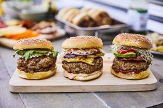 Taco Burger, Steak Spice, Barbecue, Sandwiches, Food Porn, Pork, Yummy Food, Yummy Recipes, Snacks