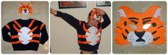La casita de búhos: Disfraz de tigre