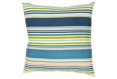 Hudson 18x18 Pillow, Blue