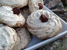 When baking, or when preparing eggnog, for example, protein is always left over. These tasty cookies Quick Easy Desserts, No Bake Desserts, Quick Easy Meals, Christmas Sweets, Christmas Baking, Diy Christmas, Pavlova, Four, Mini Cakes