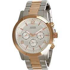 Silver rose by Guess Boutique, Guess, Silver Roses, Chronograph, Mall, How To Wear, Style, Fashion, Swag