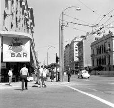 "1960 ~ ""Zonar's"" cafe at Panepistimiou avenue, Athens"