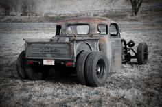48 Dodge dually rat rod truck