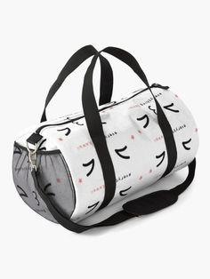 """Everything Kawaii 7, kawaii expression, kawaii faces"" Duffle Bag by artgame | Redbubble Kawaii Faces, Chiffon Tops, Gym Bag, Classic T Shirts, Bags, Stuff To Buy, Accessories, Handbags, Dime Bags"