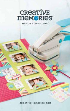Creative Memories Mini Catalog | 2013 March & April