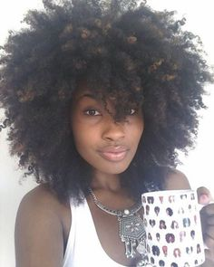 Simply amazing #coily #naturalhair
