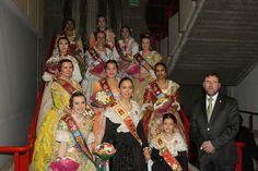 Las reinas de Segorbe asisten a la Exaltación de las Falleras Mayor e Infantil de 2015 de la Falla Politécnica-Tarongers-Camino Vera