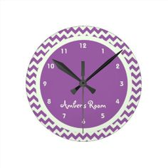 >>>Order          	Purple Chevron Personalized Kid's Bedroom Round Wall Clocks           	Purple Chevron Personalized Kid's Bedroom Round Wall Clocks lowest price for you. In addition you can compare price with another store and read helpful reviews. BuyDeals          	Purple Chevron P...Cleck Hot Deals >>> http://www.zazzle.com/purple_chevron_personalized_kids_bedroom_clock-256714255900446842?rf=238627982471231924&zbar=1&tc=terrest