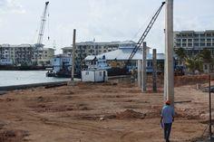 .Zona de construcción hotelera en Varadero. Foto: Aíxa López