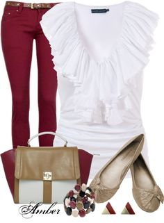 """""""Wine Jeans"""" by stay-at-home-mom on Polyvore"""