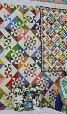 Pinwheel Garden Quilt pattern