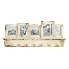 Found it at Wayfair - Wooden Wall Picture Frame with Coat Rack