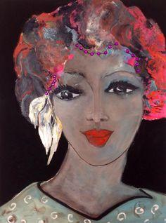 #Figurative# oil on canvas# by#Britt Boutros Ghali# www.brittbg.com