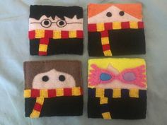 Harry Potter Felt Coasters - NEEDLEWORK