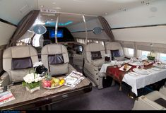 Thousands of ideas about expensive interior Luxury Jets, Luxury Private Jets, Private Plane, Interior Photo, Interior Design, Airplane Interior, Private Jet Interior, Luxury Helicopter, Aircraft Interiors