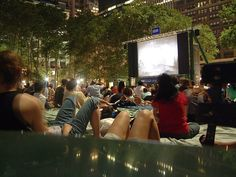 Big screens are popping up all over the city. Here's all of the family-friendly flicks you can see for free this season!