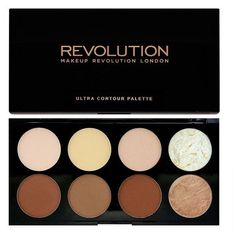 Makeup Revolution Ultra Contour Palette ($11) ❤ liked on Polyvore featuring beauty products, makeup, face makeup and palette makeup