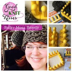 Make a Zippy Loom Hat with the Bulky Moss Beanie. This pattern can also be used for a cowl as well. Need 4-6 Zippy looms and 1 set of Zippy corners.