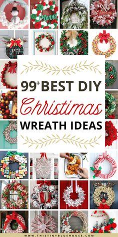 100+ Best Cheap DIY Christmas Wreaths