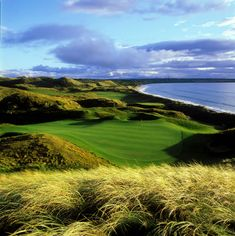 Ireland is world renowned for its exceptional golf course. No surprise considering it has over one third of the world's links courses, like Ballybunion in County Kerry.