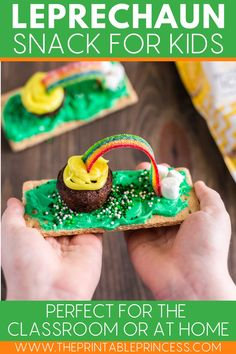 Somewhere over the rainbow is a bit of Irish luck. Follow along with these step-by-step directions, pictures and helpful tips as you discover a fun and festive St Patrick's Day snack for kids.