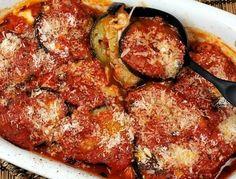 Tomat och auberginegratäng