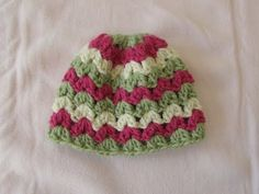 VERY EASY crochet cluster baby hat tutorial (Change the colors and size for your needs. Make a matching scarf or cowl... Deb)