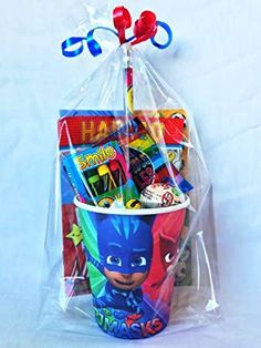 Pj Masks Birthday Cake, 4th Birthday Cakes, Baby Boy 1st Birthday, Birthday Favors, 4th Birthday Parties, Pj Masks Party Favors, Festa Pj Masks, Pjmask Party, Party Cups