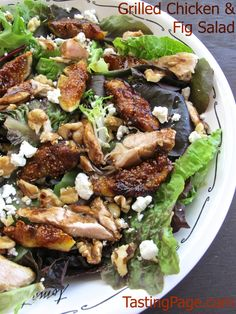 ... fig salad grilled chicken and fig salad more chicken recipes fig salad