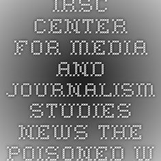 IRSC Center for Media and Journalism Studies - News - The Poisoned Well of Public Discourse: Anita Sarkeesian, #GamerGate, and the Value of Humanities Education