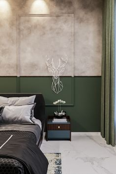 Bedroom Wall Designs, Room Design Bedroom, Bedroom Furniture Design, Modern Bedroom Design, Luxury Furniture, House Paint Interior, Room Interior, Interior Design, Indian Home Design
