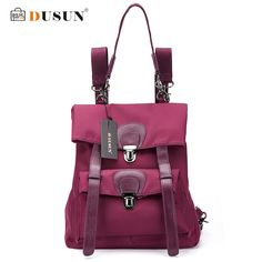 DUSUN Women High Quality Oxford Backpack Brand Design Mochila Women School Bag For Teenage Girls Fashion Women Backpack Hot Sale