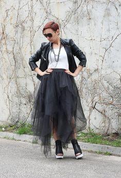 Tulle Skirt / Wedding Skirt / Bridesmaid Skirt / Tutu Skirt / Women Tulle Skirt / Princess Skirt / B