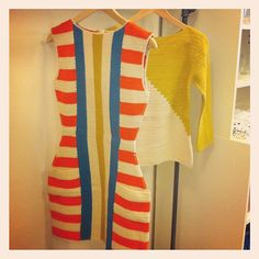 Beautiful knits from Lauren Moffatt Spring 2013.