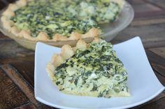 Maria's Nutritious and Delicious Journal- gluten free, low carb spinach artichoke tart