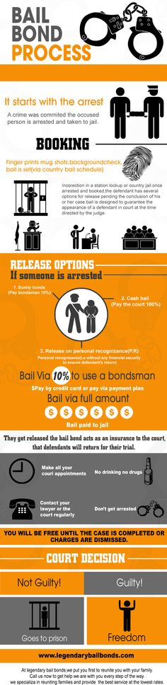 Bail Bond Process Flow-Chart Bail bondsman and Process infographic - Bail Agent Sample Resume