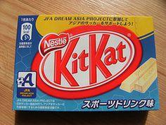 Sports Drink Kit Kat