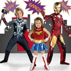 Take a look at the Heroic Haunting: Superhero Costumes event on zulily today!