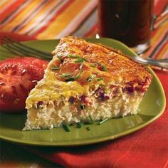 Savory Ham-and-Swiss Breakfast Pie - 15 Scrumptious Breakfast Casseroles - Southernliving. Serve this egg-based dish for breakfast or add spinach to make an easy weeknight meal.Recipe: Savory Ham-and-Swiss Breakfast Pie What's For Breakfast, Breakfast Dishes, Breakfast Casserole, Breakfast Recipes, Grits Casserole, Grits Breakfast, Tomato Breakfast, Brunch Dishes, Chicken Casserole